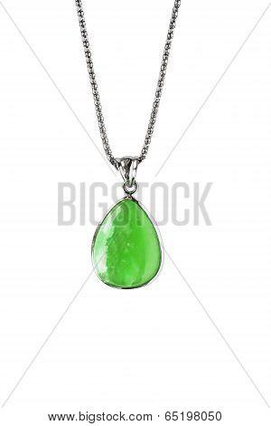 Greenstone Pendant