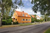 foto of middle class  - Swedish middle class home in Stockholm  - JPG