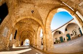picture of larnaca  - Arcs of Ayious Lazarus Church Larnaca Cyprus - JPG