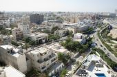 pic of libya  - Tripoli, Libya, showing the highway leading to the city.