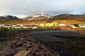Village In Iceland - Grundarfjordur - Snaefellsnes poster