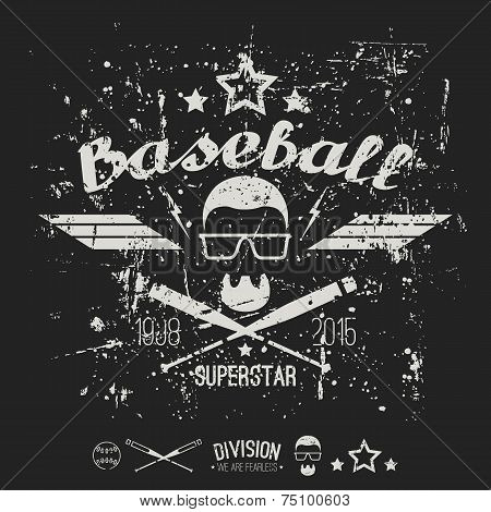 Emblem Baseball Superstar College Team