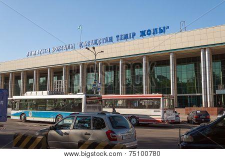 Railway Station Almaty-1
