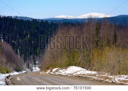 Mountain Range Of The Kuznetsk Alatau