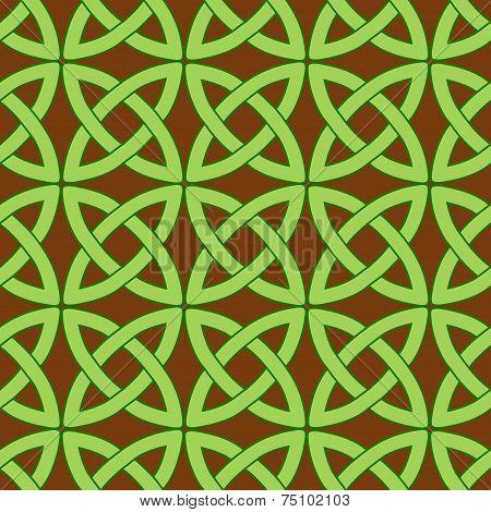 Celtic Pattern Brown