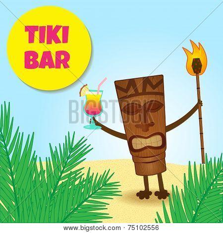 Tiki With Legs