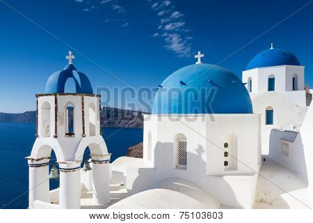 Cycladic Style Church At Oia