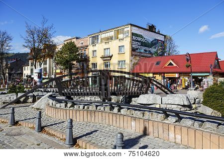 Bridge Over Foluszowy Stream