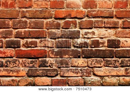 Cracked Grunge Brickwall