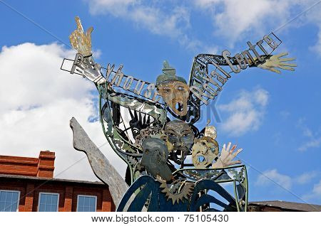 Playhouse Theatre sculpture, Nottingham.