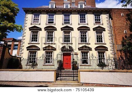 Marshall Tallart prison house, Nottingham.