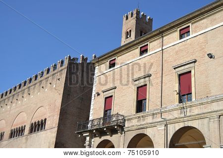 Old Building On Piazza Cavour
