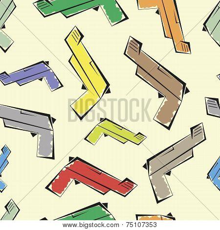 Guns seamless texture