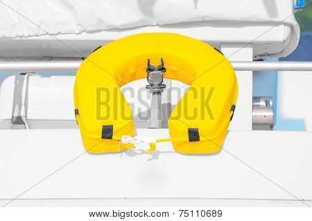 Safety Equipment On The Yacht