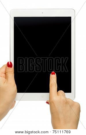 Holding black screen iPad air