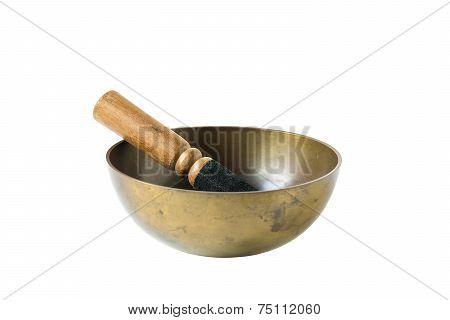 Isolated Tibetan Bowl