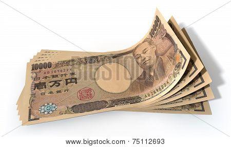 Yen Bank Notes Spread