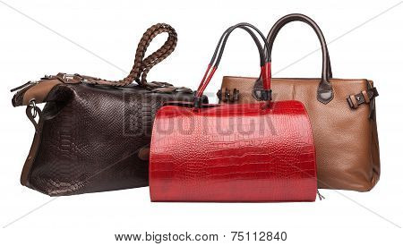 Natural Leather Female Purses