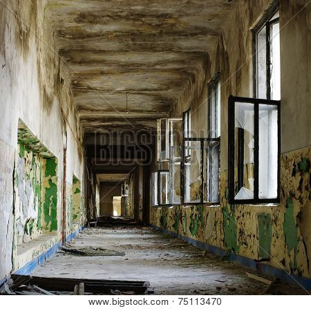 ruin corridor