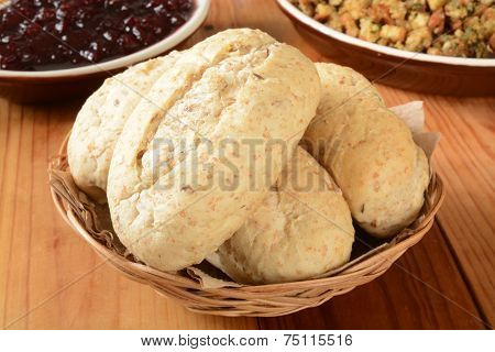 Whole Grain Dinner Rolls