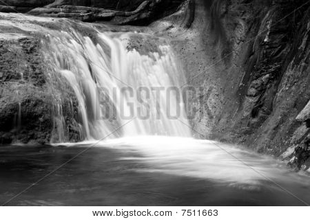 Water Falls And Cascades Of Yun-tai Mountain, China