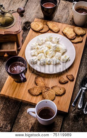 Homemade Hot Chocolate, Homemade Butter Cookies