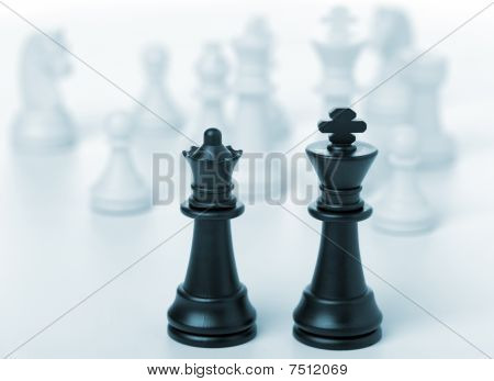 Chess King And Queen