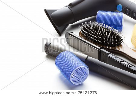 Professional Tools Of Hairdresser