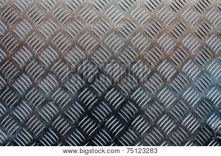Hash Marked Metal Sheet Texture