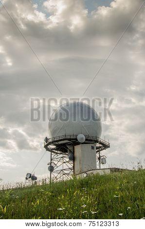 Doppler Radar Weather Station Distant