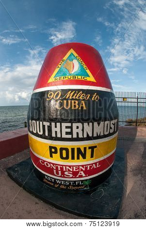 Southernmost Point Landmark