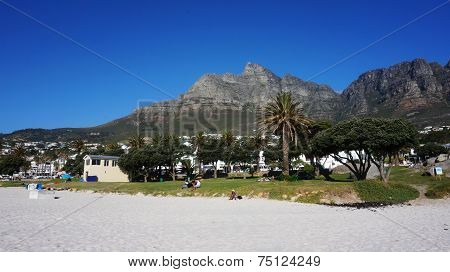 Camps Bay Near Cape Town, In The Western Province Of South Africa
