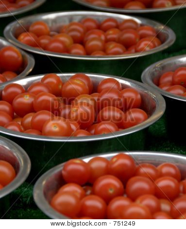 Bowls Of Cherry Tomato