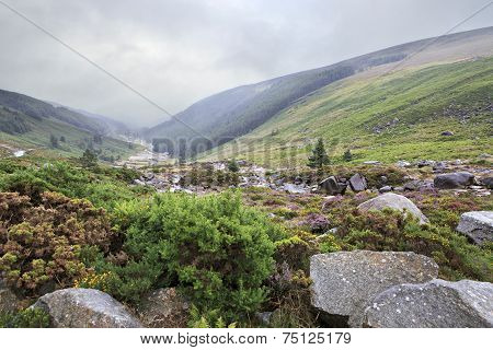 Glacial valley Glendalough