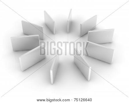 White Rectangles.