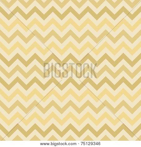 Retro gold vector zigzag chevron pattern