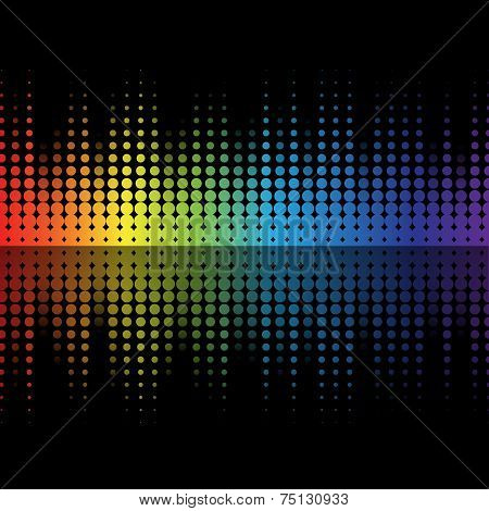 Color Graphic Equalizer