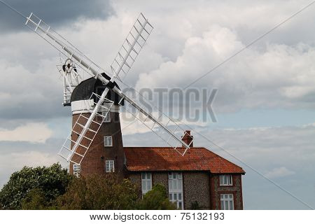 Traditional Windmill.