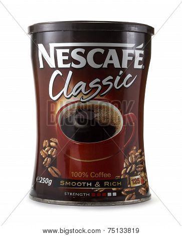 Nescafe Can