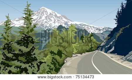 Road In The Mountains.eps