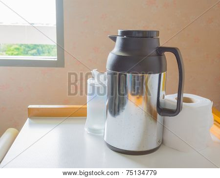 Thermos Tissue Paper And Glass