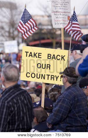 Take back our country.