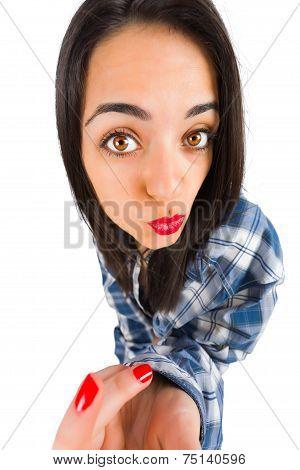 Duckface Girl
