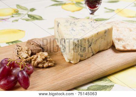 European blue cheeses Stilton