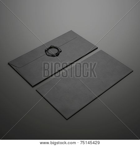Two Black Envelopes