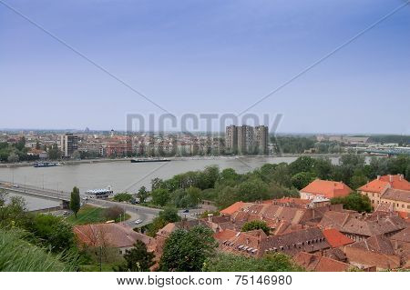 The Roofs Of The Old Town Petrovaradin