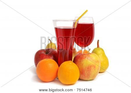 Glass Of Fresh Juice