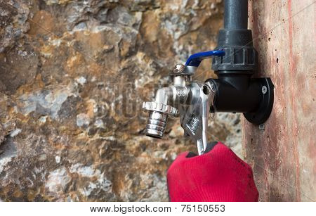 Placing A Tap