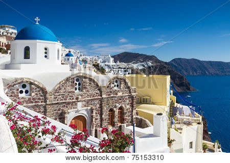 Cycladic Village Of Oia