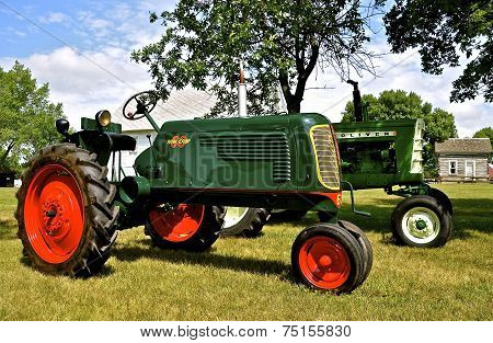 Refurbished Oliver Tractors